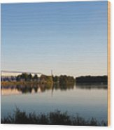 Wingfoot Lake Wood Print