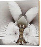 Wings In Motion Wood Print