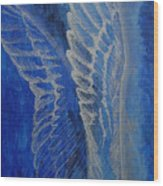 Wings Of Angel Wood Print