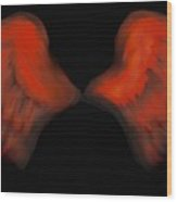 Wings Of Fire Wood Print