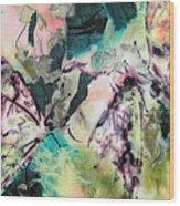 Wings Of Summer Wood Print