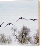 Wingspread Wood Print