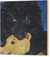 Winnie And Pooh Wood Print