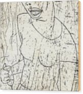 Wino Wood Print