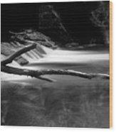 Winooski River Wood Print