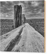 Winshelsea Beach Sussex Wood Print