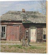 Winslow Cabin Wood Print
