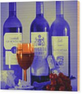 Winsome Wine Wood Print