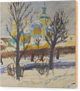 Winter 1 Wood Print