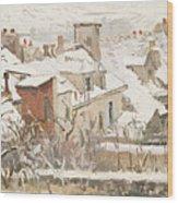 Winter, 1872  Wood Print