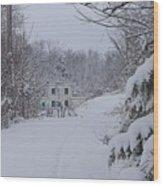 Winter 2010 Wood Print