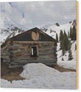 Winter At The Boston Mine 4 Wood Print