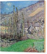 Winter At The Val De Falaise Wood Print