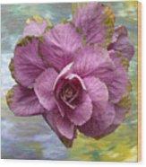 Winter Cabbage Wood Print
