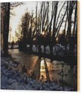 Winter Creek H B Wood Print