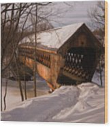 Winter Henniker Wood Print