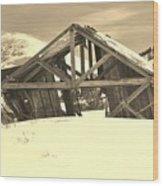 Winter History 2 Wood Print