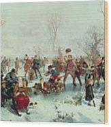 Winter In Saint James's Park Wood Print
