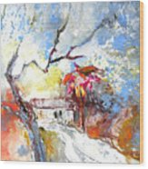 Winter In Spain Wood Print