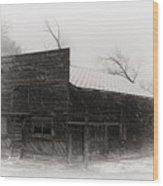 Winter In Wyoming 2 Wood Print