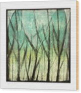 Winter Into Spring Wood Print