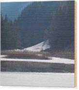 Winter Lake 1 Wood Print