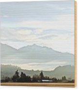 Winter Landscape 4 Wood Print