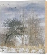 Winter Magic Wood Print