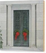 Winter Mausoleum Wood Print