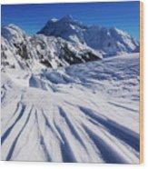 Winter Mount Shuksan Wood Print