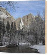 Winter Of Yosemite Wood Print
