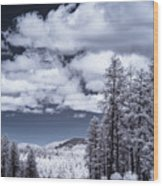 Winter On 89a Wood Print