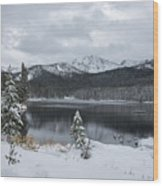 Winter Paradise Wood Print