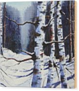 Winter Passage Wood Print
