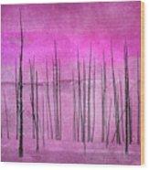 Winter Pink  7913pink Wood Print