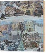 Winter Repose - SOLD Wood Print
