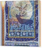 Winter Solstice Wood Print