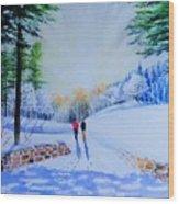 Winter Sonnet  Wood Print