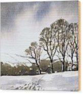 Winter Sowood Wood Print