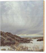 Winter Storm Clouds 2018-2289 Wood Print