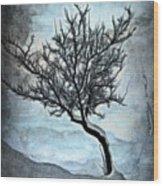 Winter Tree II Wood Print