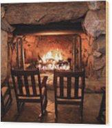 Winter Warmth Wood Print