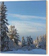 Winter Wonder  Wood Print