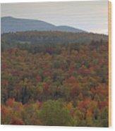 Winters Approach Wood Print