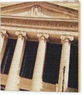 Wintrust Financial Corporation Wood Print