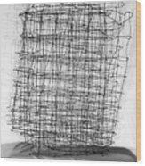 Network Wood Print