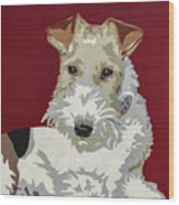 Wirehaired Fox Terrier Wood Print