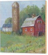 Wisconsin Barn Wood Print