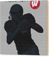 Wisconsin Football Wood Print