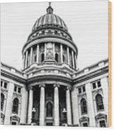 Wisconsin's Capitol Wood Print